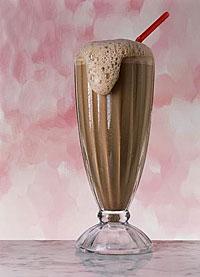 Chocolate Milk Bubbles