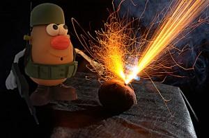 Mr Potato Bomber